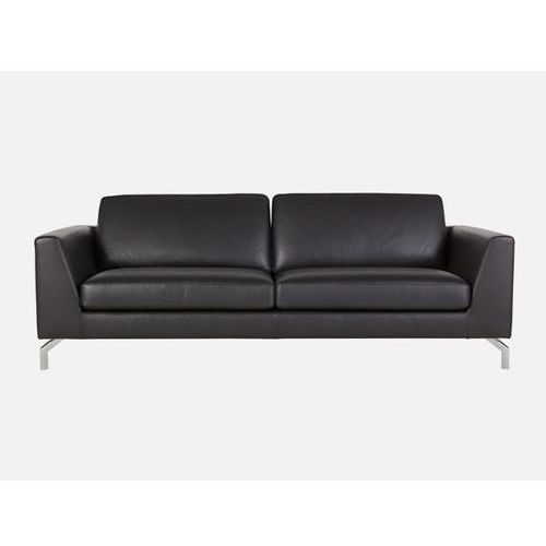 Sofa Ohio 3 seater MATRIX BLACK skóra czarna  E2753-9103-2S-MATRIXb-119, Sits