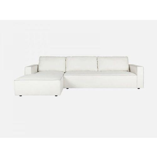Sofa Ella narożna SET2 DAS 01 white tkanina biała  E1570-5404-2S-DAS01, Sits