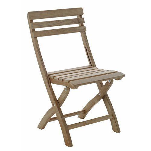 Krzesło składane Cinas Clarish teak ze sklepu All4home