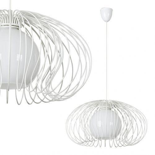 Dekoracyjna LAMPA wisząca OPRAWA z drutu DO salonu MERSEY Nowodvorski 5295 biały - sprawdź w MLAMP.pl - Rozświetlamy Wnętrza