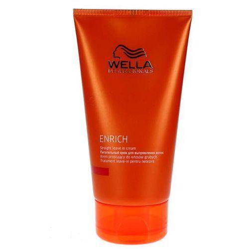 Wella Enrich krem prostujący do włosów grubych Straight Leave In Creame 150ml - szczegóły w dr włos