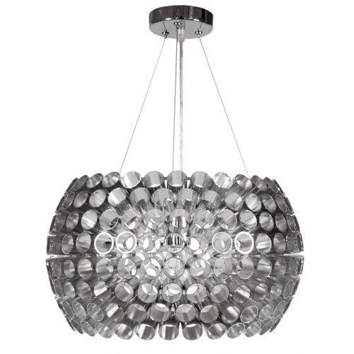Nowoczesna LAMPA wisząca OPRAWA metalowa ABROS elipsa Candellux 31-94097 srebrny - sprawdź w MLAMP.pl - Rozświetlamy Wnętrza