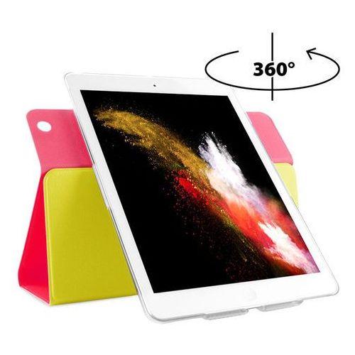 PURO Bi-Color 360 Booklet Case - Etui iPad Air (żółty/różowy) Odbiór osobisty w ponad 40 miastach lub kurier 24h, kup u jednego z partnerów