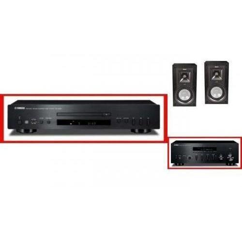 Artykuł YAMAHA R-S500 + CD-S300 + KLIPSCH KB15 z kategorii zestawy hi-fi