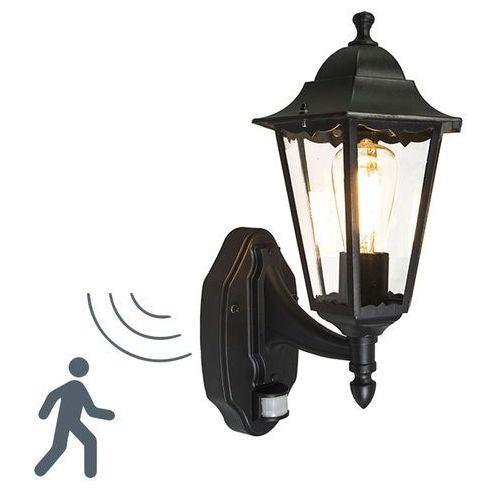 Zewnętrzna lampa ścienna New Orleans górna czarna, produkt marki Ranex