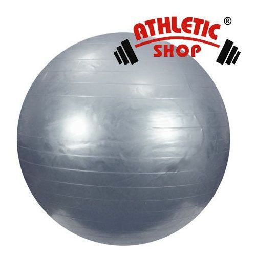 Produkt PIŁKA gimnastyczna srebrna - 65 cm z pompką