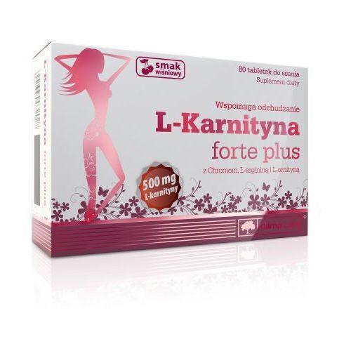 Olimp l-karnityna forte plus 80 tabl. do ssania smak wiśniowy wyprodukowany przez Olimp labs