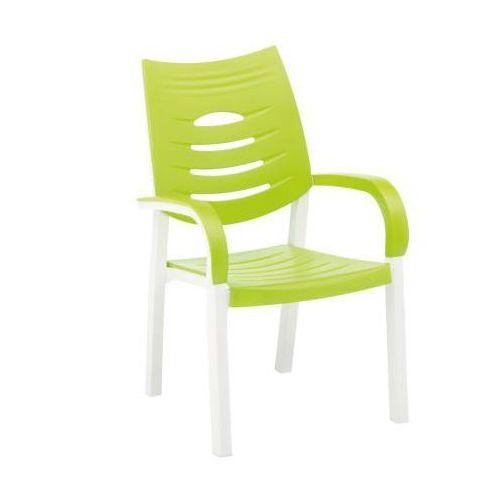 Kettler Happy Fotel biały/limonkowy ze sklepu REDCOON