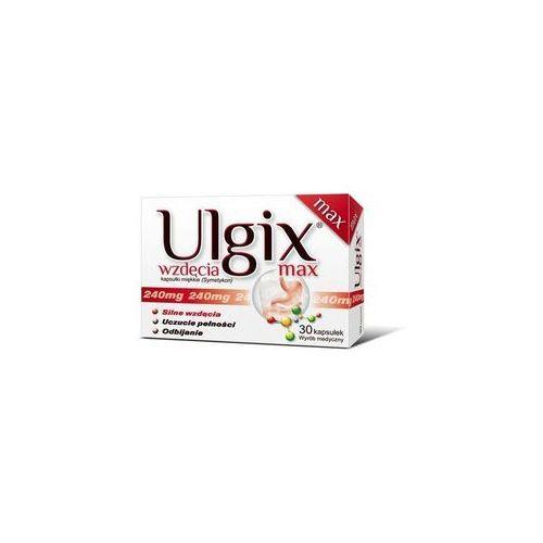 ULGIX wzdęcia max 30 kapsułek - produkt farmaceutyczny
