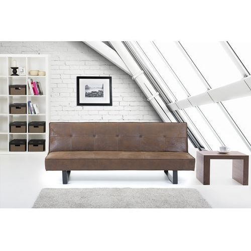 Luksusowa sofa kanapa DERBY brazowa, Beliani
