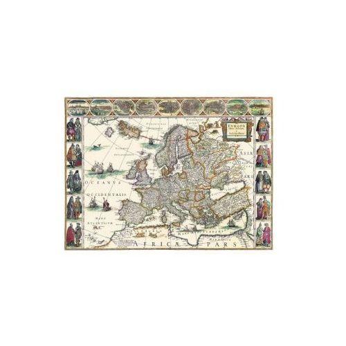 Mapa Europy, W. Blaeu, 1617 r., produkt marki Golden Maps Publishing