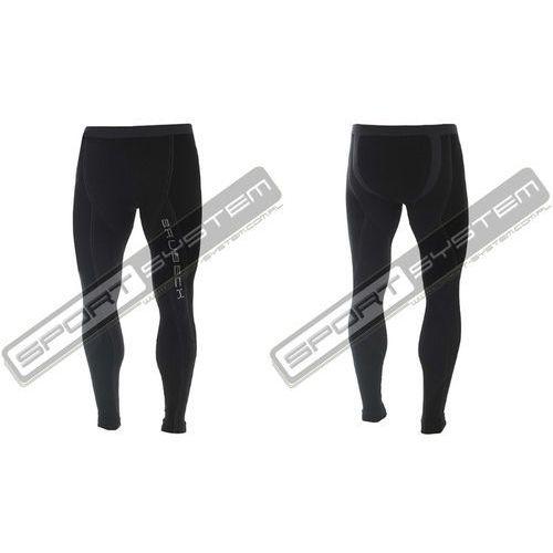 BRUBECK Spodnie termoaktywne męskie 1st Layer Extreme Merino (czarny) (LE10250) - produkt z kategorii- spodni