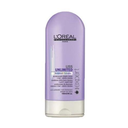 L'Oreal LISS UNLIMITED CONDITIONER Odżywka intensywnie wygładzająca do włosów niezdyscyplinowanych, kręconych, puszących się oraz suchych (150) - produkt z kategorii- odżywki do włosów