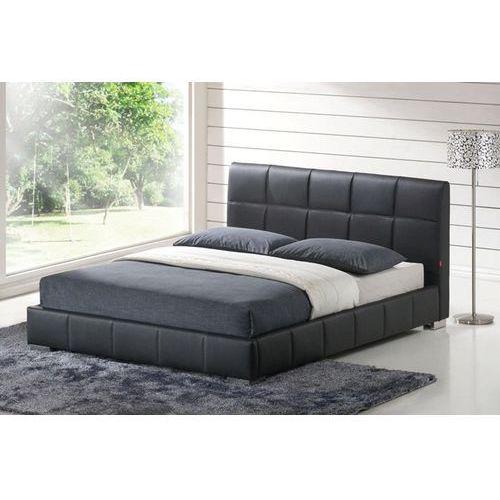 Łóżko Colly czarne, 200x180 cm ze sklepu FUTURI Nowoczesne Meble