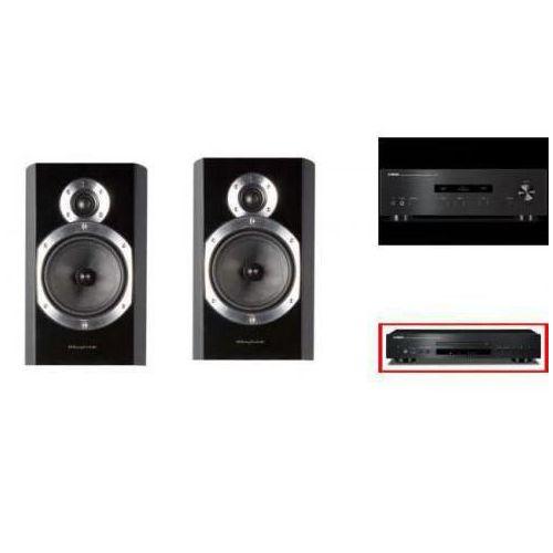 YAMAHA A-S201 + CD-S300 + WHARFEDALE 10.1 - wieża, zestaw hifi - zmontuj tanio swój zestaw na stronie