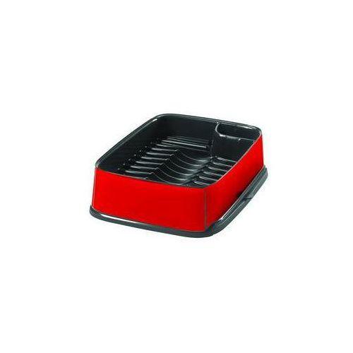 Ociekaczem Curver 10 x 30 x 40 cm Srebrny/Czerwony - produkt z kategorii- suszarki do naczyń
