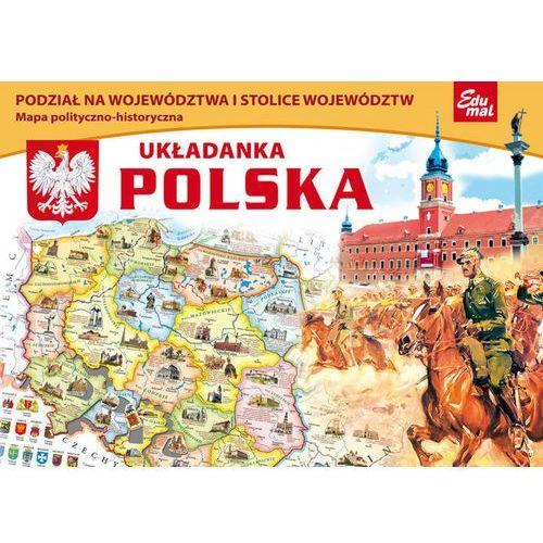 Puzzle mapa polityczno-historyczna Polski, produkt marki AB spółka akcyjna