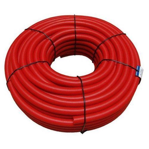 Max lloyd Rura osłonowa karbowana peszel 18/22 50 mb czerwony, kategoria: pozostałe ogrzewanie