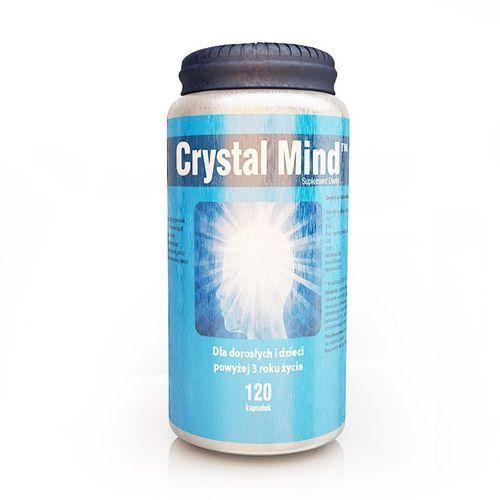 CRYSTAL MIND czysty umysł 120 kapsułek, postać leku: kapsułki