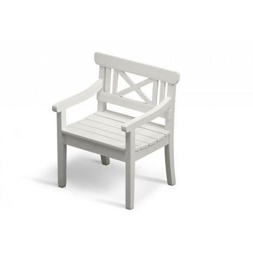 Skagerak Drachmann - Krzesło - Fotel Ogrodowy - Białe ze sklepu DesignForHome.pl