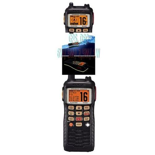 Produkt Radio YAESU VERTEX VHF Standard Horizon HX-851 GPS DSC 6W pływające
