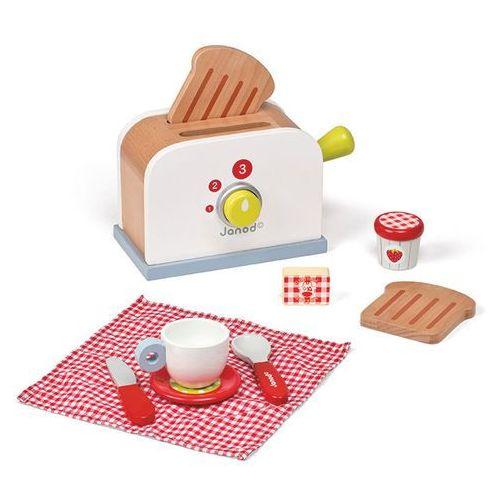 Janod - Toster drewniany Zestaw śniadaniowy z 9 akcesoriami oferta ze sklepu SCANDINAVIAN BABY