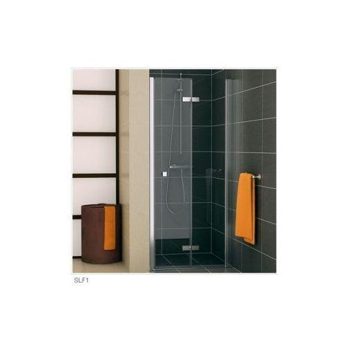 SANSWISS SWING F-LINE Drzwi dwuczęściowe składane SLF1 (drzwi prysznicowe)