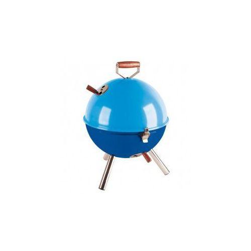 Grill okrągły niebieski Mini BBQ, produkt marki Contento