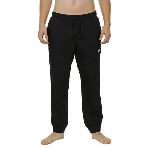 spodnie dresowe Nike AW77 Cuff FLC - 010/Black/White - produkt z kategorii- spodnie męskie
