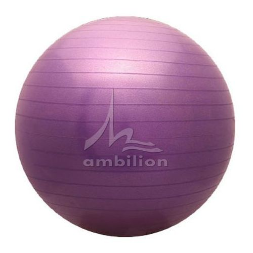 Piłka fitness  Classic 65 fioletowa, produkt marki ATHLETIC24