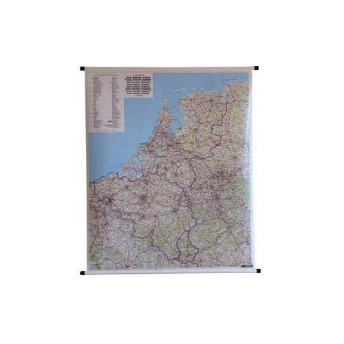 Benelux Belgia Holandia Luksemburg mapa ścienna samochodowa 1:500 000  & Berndt, produkt marki Freytag