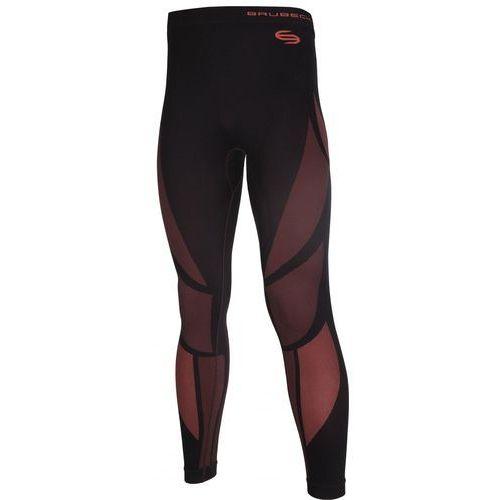 Brubeck Spodnie męskie Dry LE10810 czarny/czerwony XL - produkt z kategorii- spodnie męskie