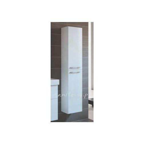 Produkt z kategorii- regały łazienkowe - Szafka Elita Barcelona 30 słupek 2D biała 164345