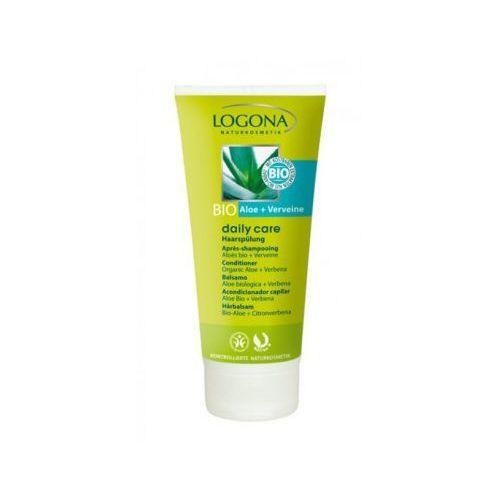 Produkt z kategorii- odżywki do włosów - Odżywka do włosów - 100 ml - bio-aloes & werbena - Seria Daily Care dla rodziny - Logona