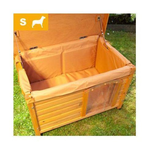 Izolacja do budy dla psa Woody, S - S: dł. x szer. x wys.: 74 x 44 x 42 cm (izolacja i ocieplenie)