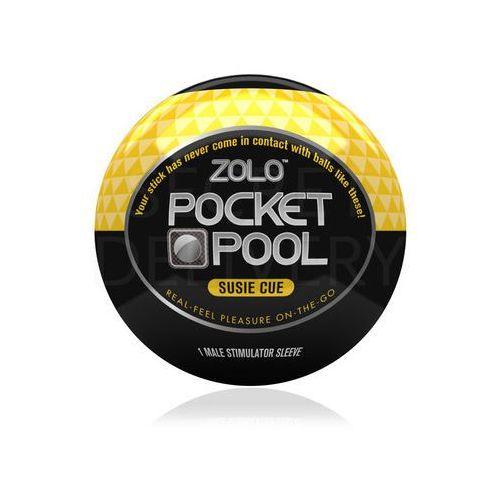 Zolo Pocket Pool Susie Cue mini masturbator - oferta [254ad5a55f430482]