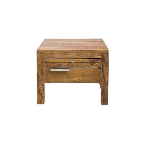 Authentico Drewniana Szafka Nocna Drewno Palisander lakier półmat 50x50 cm - 76447, Kare Design