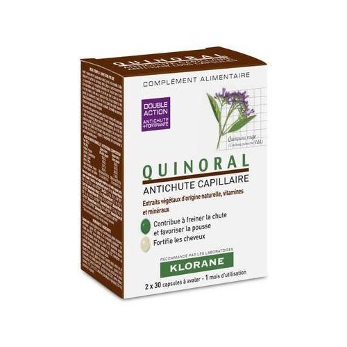 Quinoral kaps. - 60 kaps. (30+30), postać leku: kapsułki