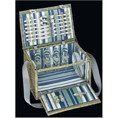 Cilio Erba de Luxe Kosz piknikowy z wyposażeniem dla 4 osób od skandikhome.com