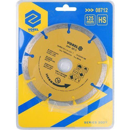 Tarcza diamentowa 125 mm segmentowa / SZYBKA WYSYŁKA / BEZPŁATNY ODBIÓR: WROCŁAW ze sklepu Toya24