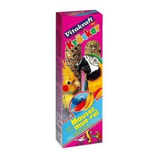Kracker Mauser kolby dla dużych papug lub nimf na pierzenie, Vitakraft