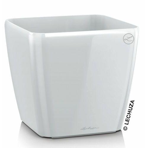 Donica Lechuza Quadro LS biała, produkt marki Produkty marki Lechuza