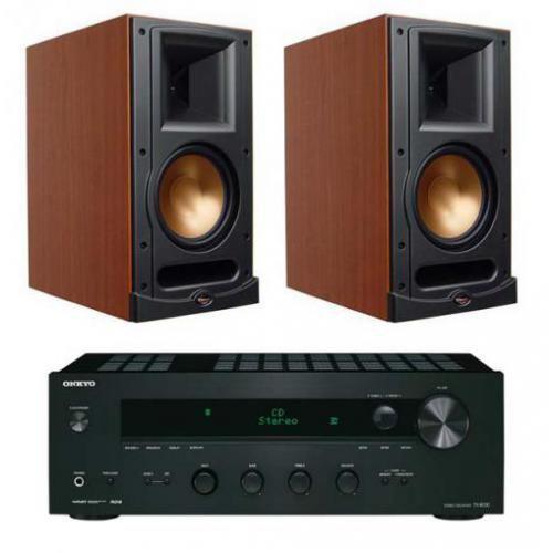 Artykuł ONKYO TX-8030 + KLIPSCH RB61 CHERRY z kategorii zestawy hi-fi