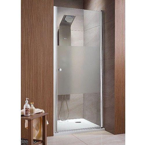 EOS DWJ Radaway drzwi wnękowe jednoczęściowe 790-810x1970 chrom przejrzyste - 37913-01-01N (drzwi prysznico
