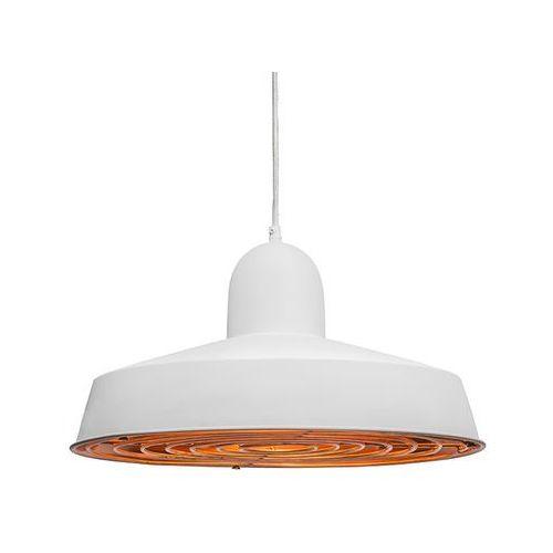 Lampa wisząca Strijp Deluxe biała z miedzią - sprawdź w lampyiswiatlo.pl