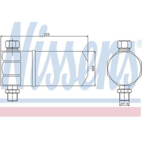 Towar z kategorii: osuszacze powietrza - Osuszacz, klimatyzacja NISSENS 95115