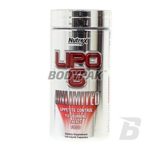 lipo 6 unlimited 120kaps. wyprodukowany przez Nutrex