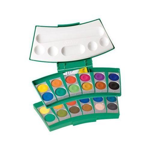 Oferta Farby wodne ProColor Pelikan - 24 kolory + tubka białej farby [f537d0a44f935432]
