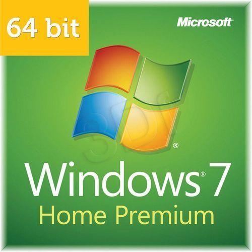Microsoft Windows 7 Home Premium 64 bit SP1 OEM PL - sprawdź w wybranym sklepie