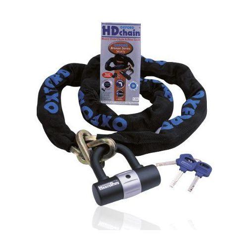 Oxford łańcuch, blokada heavy duty kolor czarny, długość 100 cm (alarm motocyklowy)